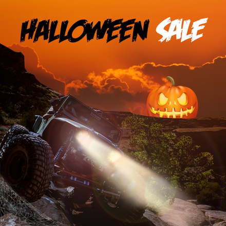 Halloween Sale Now On