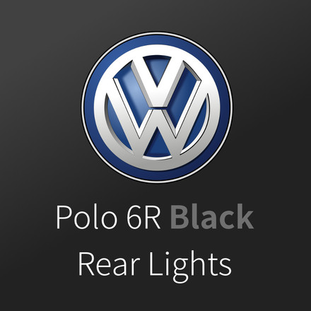 Sleek Polo 6R Black Rear Lights Now Available