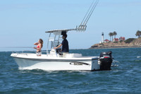 SG300 T-Top for Center Console Boats - Anodized Finish