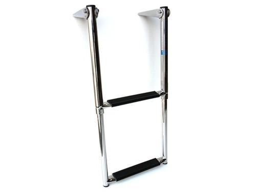 Telescoping Stainless Steel Boat Ladder - 2 Step