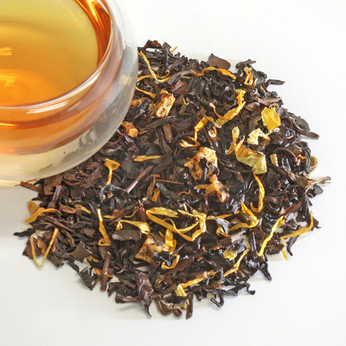 Peach Oolong Black Loose Leaf Tea This Peach Oolong is made with the darker, more oxidized oolongs of Taiwan that are known for having lush, playful flavors. Deeply floral, honey and juicy, it's not uncommon to have a lovely cup that's almost like a succulent slice of peach. Why not let the tea play with some actual peaches? Fragrant and sweet like a perfectly ripe fruit, with a smooth astringency and lingering floral aroma.