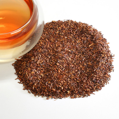 Rooibos Jasmine Organic Rooibos herbal tea from South Africa infused with the delicate scent of night-blooming jasmine flowers. If you enjoy classic jasmine tea, keep this one on hand, too, for when you need a caffeine-free treat. Mellow and smooth, delicately sugary notes from the Rooibos. Lingering airy jasmine fragrance, like fine Jasmine Pearl tea (which tends to be more delicate and lightly perfumy). Rounded, fresh finish.