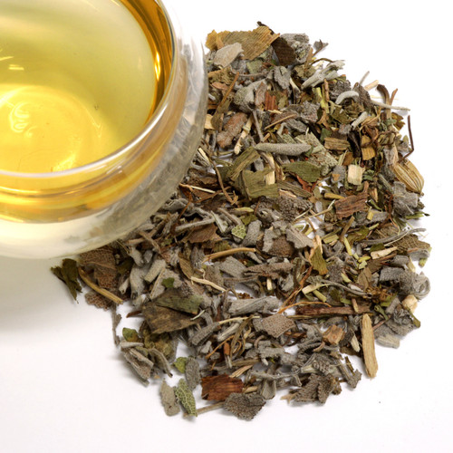 Clear Mind Herbal Wellness Tea (Sage, rosemary, peppermint, gotu kola, eleuthero root, gingko) Clear Mind brings calm, clarity, strength, and stamina to the mind. It supports yoga, meditation, and deep intellectual practices. Organic