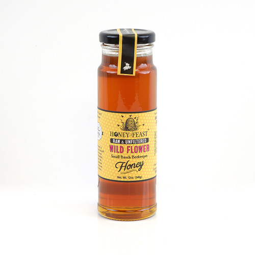 WILDFLOWER HONEY 12oz Honey Feast