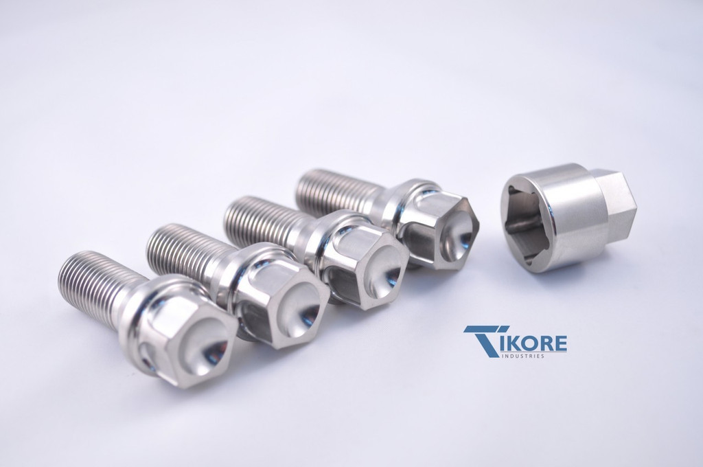 Lotus Titanium Security Lug bolts