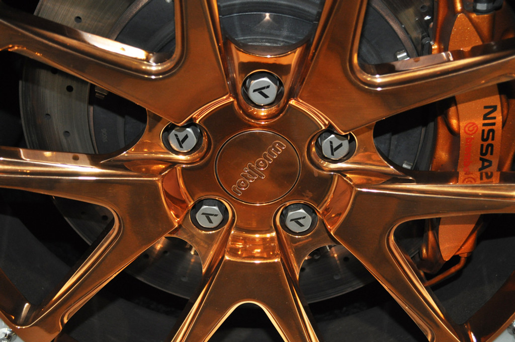 Nissan GTR Titanium Closed Ended Lug Nut Set