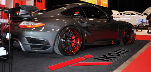 Porsche Titanium Two Piece Security Locks
