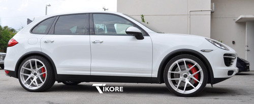 Porsche Cayenne Titanium Two Piece Security Locks