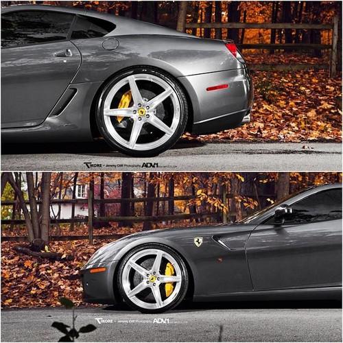 Ferrari Titanium Lug Bolt Set w/ Aftermarket wheels