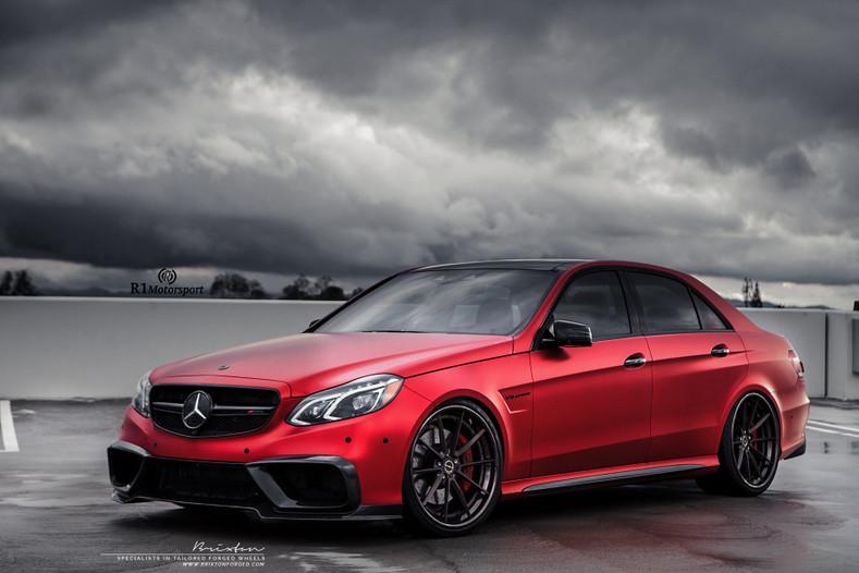 TiKORE + Mercedes Benz E63