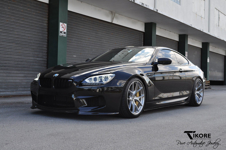 TiKORE + BMW M6 + HRE + Vorsteiner