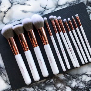 Luxe Glam 12 Pc Brush Collection