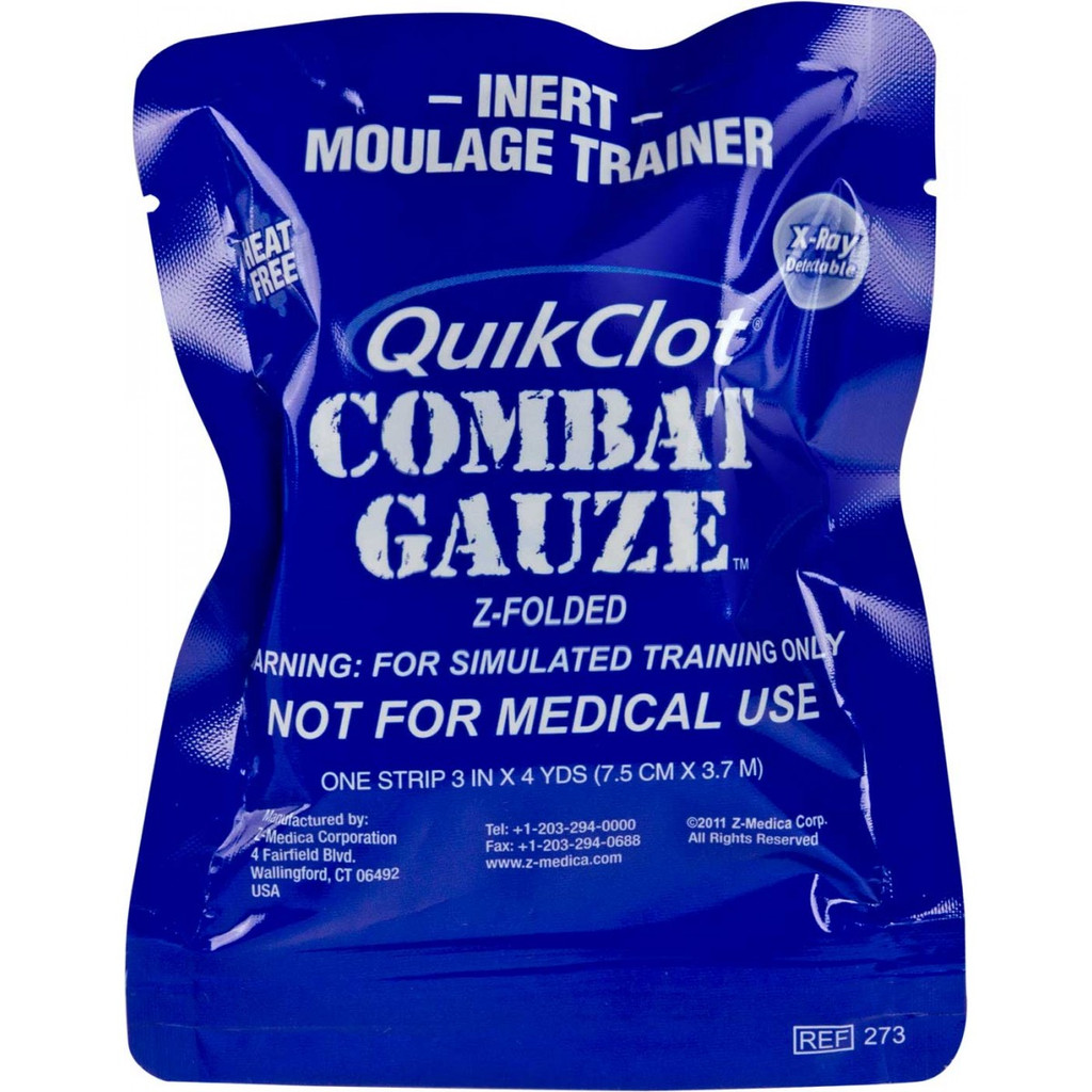 QuikClot Training Combat Gauze
