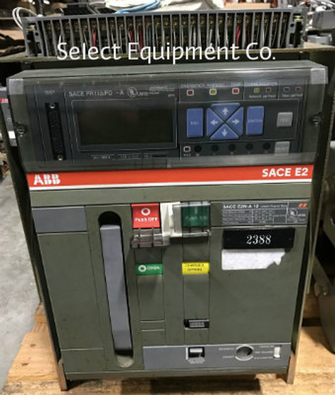 e2n a12 abb sace e2 1200 amp frame 800 amp trip circuit breaker rh selectequipment net ABB Breakers SACE abb sace e2 manual pdf