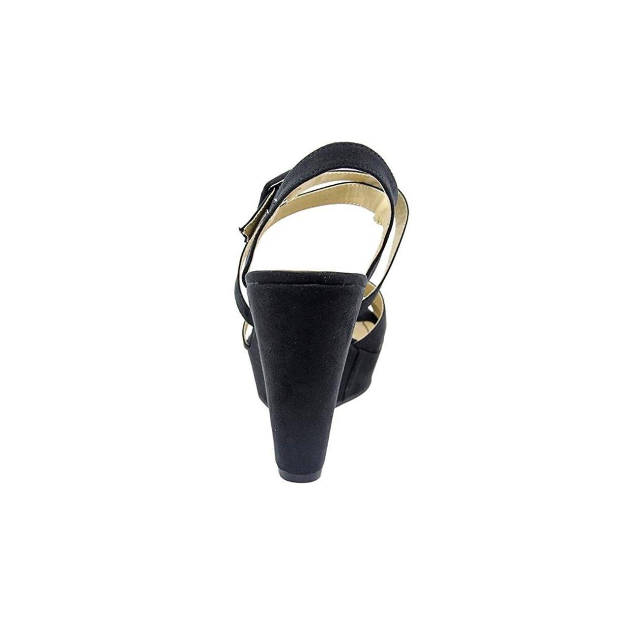 1d71cb3d31c ... American Rag Womens RACHEY Peep Toe Casual Platform Sandals~Listee-288  ...