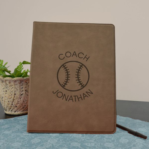 Baseball Personalized Portfolio for Coach