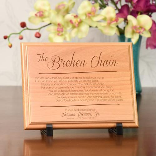 The Broken Chain Plaque