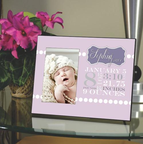 Birth Announcement Frame