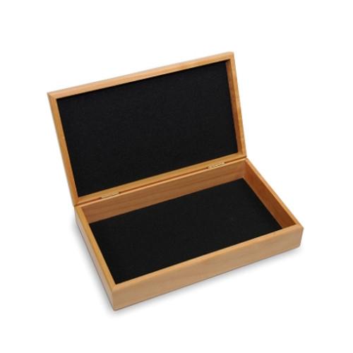 Memorial box is felt lined