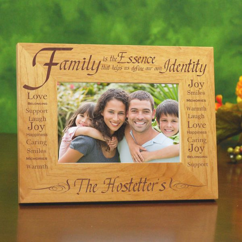 Wedding Family Photo List: Happiness Is Home Made Personalized Family Picture Frame