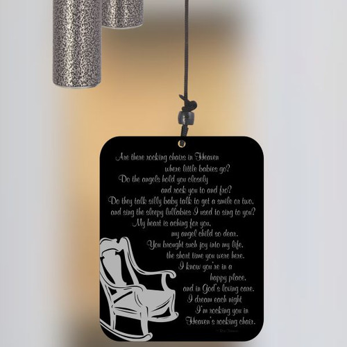 Heaven's Rocking Chair Wind Chime