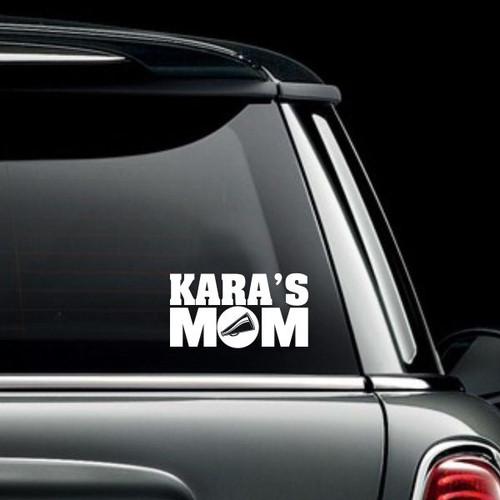 Cheer Mom Car Decal