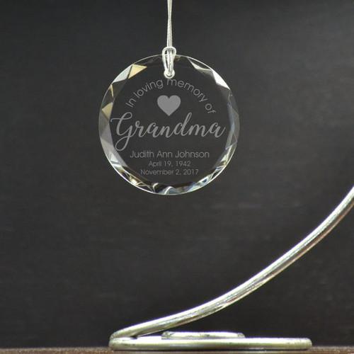 Loving Grandma Ornament