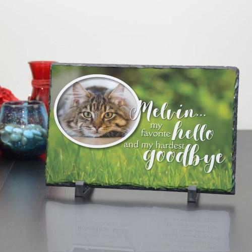 Hardest Goodbye to Pet Large Plaque
