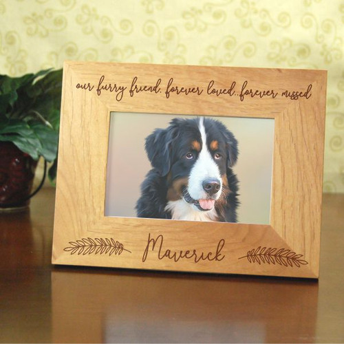 Our Furry Friend Memorial Frame