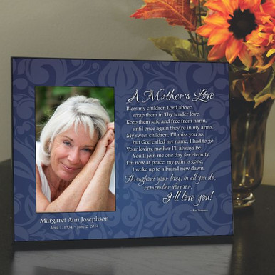 Mother Memorial Picture Frame Mother S Love Memorial Frame