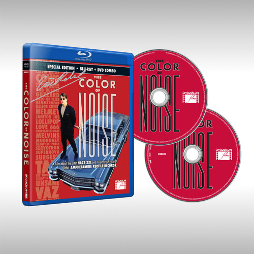 The Color of Noise Blu-Ray/DVD Combo Pack