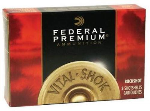 """Federal 20 Gauge Ammunition P2563B 2-3/4"""" 1100fps #3 Shot 20 Pellets 5 rounds"""