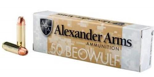 Alexander 50 Beowulf Ammunition 335 Grain Hollow Point 20 rounds