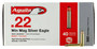 Aguila 22 Winchester Magnum Ammunition Silver Eagle 1B222400 40 Grain Jacketed Soft Point 50 rounds 1