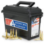 Hornady 6.5 Creedmoor Ammunition American Gunner H81483 140 Grain Boat Tail Hollow Point Ammo Can 200 rounds