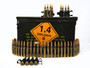 Belgian Surplus 7.62x51 Ammunition AM2953 142 Grain Full Metal Jacket Can of 400 Rounds