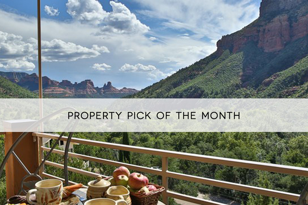 Property Pick of the Month: Sedona Vacation Villas