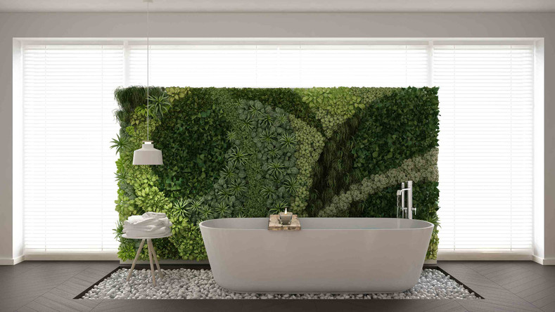 beautiful bathroom plant ideas - Bathroom Plants