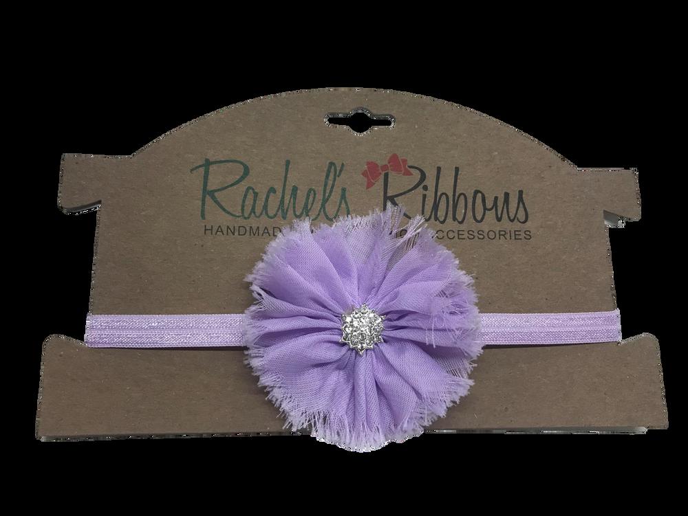 Skinny Stretch Headband w/ Jewel Ballerina
