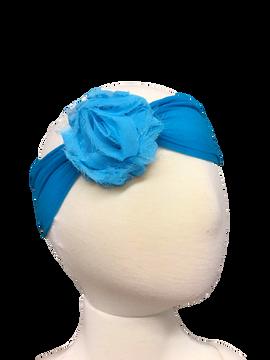 Sheer Headband w/ Shabby Chic