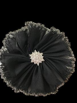 Jewel Ballerina Flower on Alligator Clip
