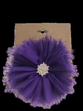 Jewel Ballerina Flower on Small Bow Card