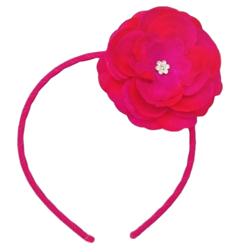 Skinny Headband with Precious Petal Flower