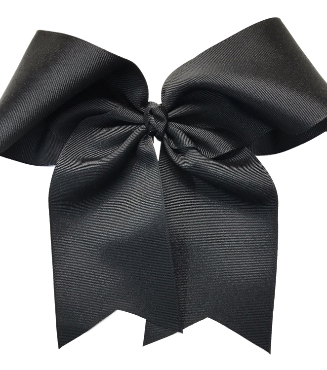 Jumbo Basic Cheer Bow w/ Long Tail