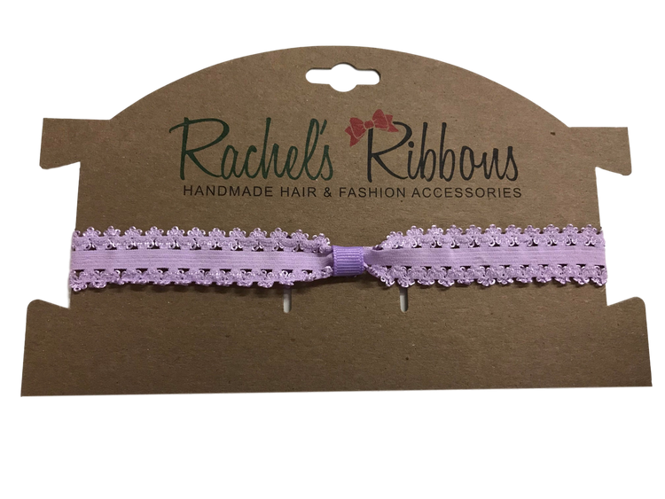 Infant Stretch Lace Headband