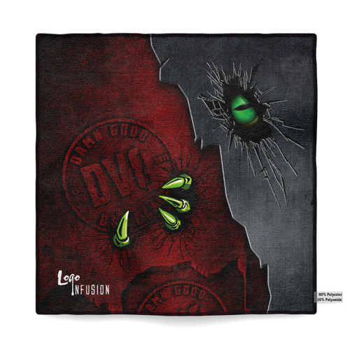 DV8 Red Claw Sublimated Towel