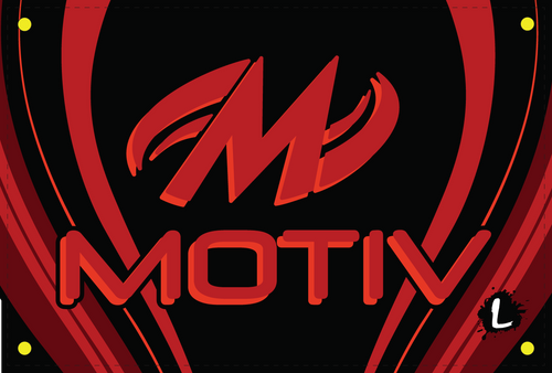 Motiv Red/Black Dye Sublimated Banner