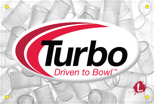 Turbo Clear Grips Dye Sublimated Banner