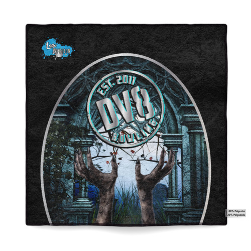 DV8 Zombie Hands Sublimated Towel