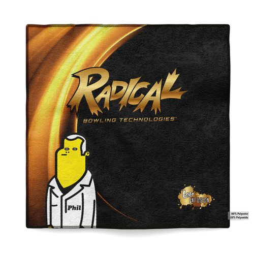 Radical Phil's Gold Sublimated Towel